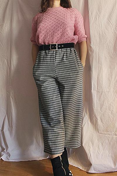 Pantalonlargecarreaux3