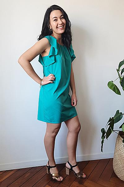 Robeturquoise