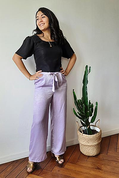 Pantalonarianevioletirise